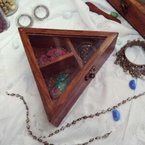 Wooden Box (Triangular)
