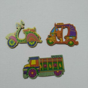 Fridge Magnet (Set of 3)