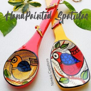 Hand painted Spatula (set of 2)